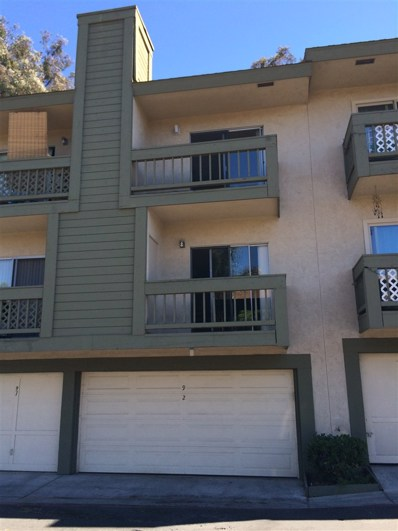 3920 60th St UNIT 92, San Diego, CA 92115 - MLS#: 180026818