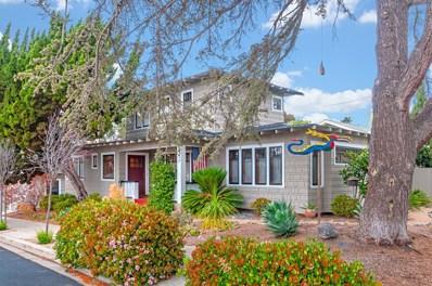 1212 W Arbor, San Diego, CA 92103 - MLS#: 180027362