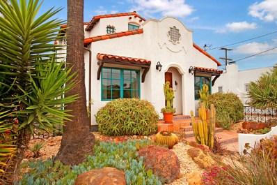 244 W Robinson Ave, San Diego, CA 92103 - MLS#: 180027682