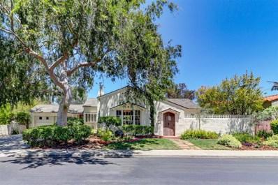 1036 Cypress Avenue, San Diego, CA 92103 - MLS#: 180028397