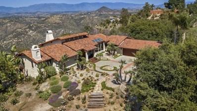 9966 Cielo Vista, Escondido, CA 92026 - MLS#: 180028669