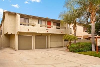 4575 Ohio Street UNIT 6, San Diego, CA 92116 - MLS#: 180029167