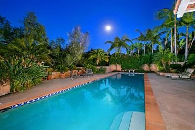6132 Paseo Valencia, Rancho Santa Fe, CA 92067 - MLS#: 180029349