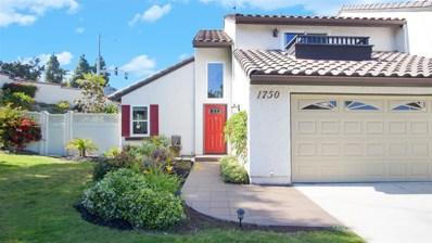 1750 Cottonwood Ave, Carlsbad, CA 92011 - MLS#: 180030066