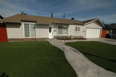 1729 Burnet St, El Cajon, CA 92021 - MLS#: 180030344