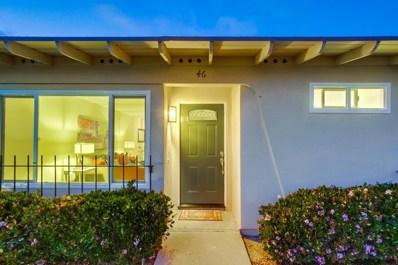 3839 Vista Campana South UNIT 46, Oceanside, CA 92057 - MLS#: 180030389