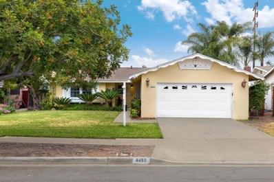 4455 Conrad Ave, San Diego, CA 92117 - MLS#: 180030530