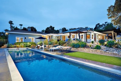 14767 Calle Carla, Rancho Santa Fe, CA 92067 - MLS#: 180030635