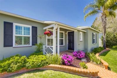 4820 Lorraine Drive, San Diego, CA 92115 - MLS#: 180030738