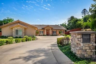 1427 Lloyd Pl, Escondido, CA 92027 - MLS#: 180032094