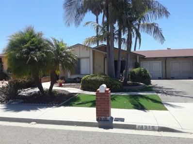 4713 Sunrise Rdg, Oceanside, CA 92056 - MLS#: 180032293