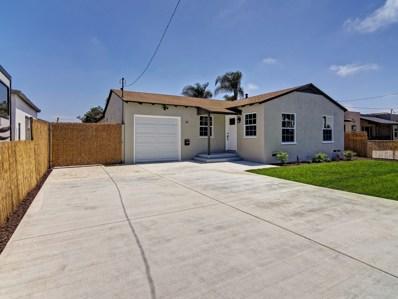 111 Naples Street, Chula Vista, CA 91911 - MLS#: 180032430