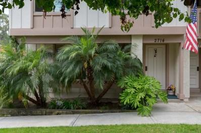 2714 Via Cardel, Carlsbad, CA 92010 - MLS#: 180032856