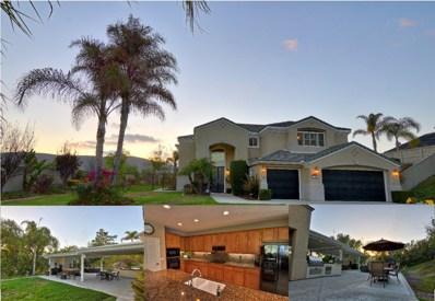 654 Arcadia Bluff Ct, San Marcos, CA 92069 - MLS#: 180033335