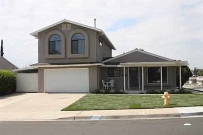 10001 Burrock Drive, Santee, CA 92071 - MLS#: 180033660