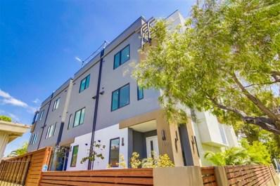 160 W Robinson Ave, San Diego, CA 92103 - MLS#: 180033775