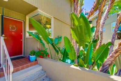 7538 Gibraltar Street UNIT G, Carlsbad, CA 92009 - MLS#: 180033806