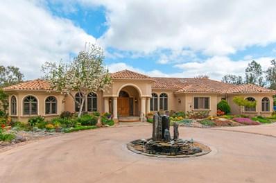16651 Via De Los Rosales, Rancho Santa Fe, CA 92067 - MLS#: 180034123