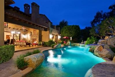 18498 Calle La Serra, Rancho Santa Fe, CA 92091 - MLS#: 180034636
