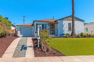 6209 Malcolm, San Diego, CA 92115 - MLS#: 180034944