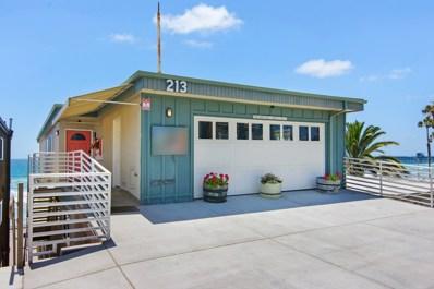 213 S Pacific St UNIT C, Oceanside, CA 92054 - MLS#: 180035001