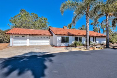 1727 Green Briar Circle, Fallbrook, CA 92028 - MLS#: 180035596