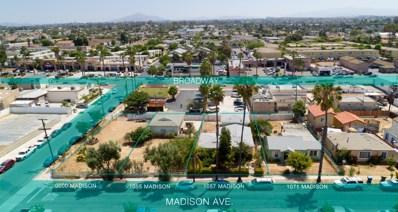 1055 Madison Ave, Chula Vista, CA 91911 - MLS#: 180036290