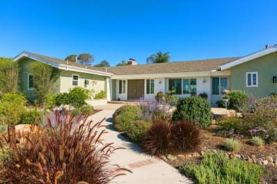 1449 Farrand Rd, Fallbrook, CA 92028 - MLS#: 180036878