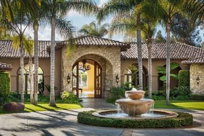 6363 Calle Del Campanario, Rancho Santa Fe, CA 92067 - MLS#: 180037647