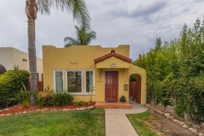 4444 42nd Street, San Diego, CA 92116 - MLS#: 180038131