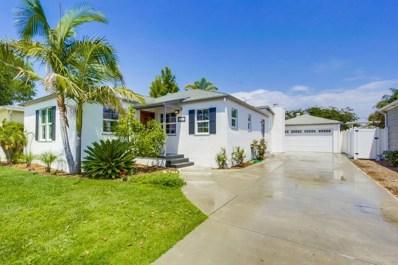 4757 49th St, San Diego, CA 92115 - MLS#: 180038242