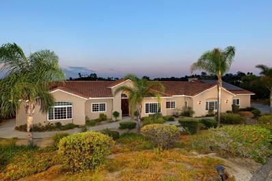 951 River Oaks Ln, Fallbrook, CA 92028 - MLS#: 180038549
