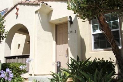 1313 Mother Lode UNIT 2, Chula Vista, CA 91913 - MLS#: 180038657