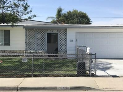 244 Noden St, El Cajon, CA 92020 - MLS#: 180038673