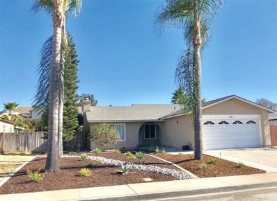 1411 Stanley Way, Escondido, CA 92027 - MLS#: 180039078
