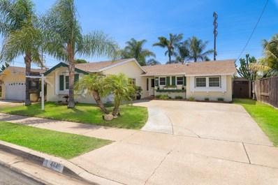 4449 Conrad Ave, San Diego, CA 92117 - MLS#: 180039478