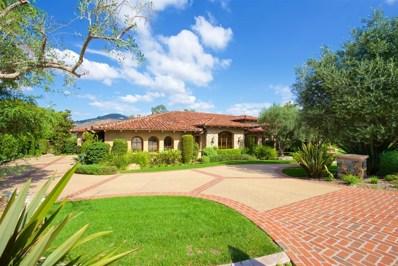 6748 Calle Ponte Bella, Rancho Santa Fe, CA 92091 - MLS#: 180039957