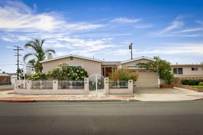 5110 Cole Street, San Diego, CA 92117 - MLS#: 180040107