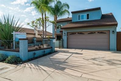 4460 Huggins Street, San Diego, CA 92122 - MLS#: 180040249