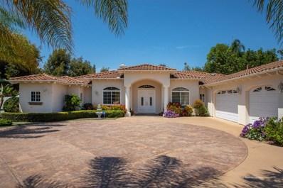 2391 Prince Way, Vista, CA 92084 - MLS#: 180040397
