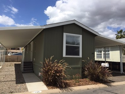 450 E Bradley Ave UNIT 143, El Cajon, CA 92021 - MLS#: 180040470