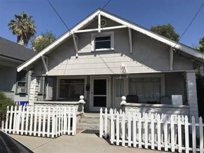 3843 8th Ave, San Diego, CA 92103 - MLS#: 180040688