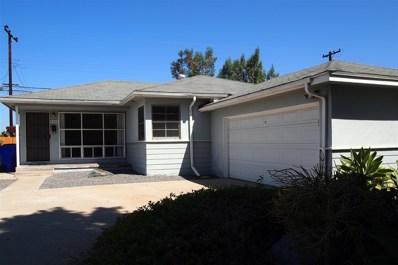 5368 Waring Rd, San Diego, CA 92120 - MLS#: 180041009