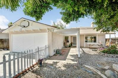 1537 Lily Ave, El Cajon, CA 92021 - MLS#: 180041316