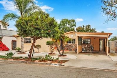 5286 Barstow St, San Diego, CA 92117 - MLS#: 180041531
