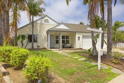 3881 Magnolia Road, Oceanside, CA 92058 - MLS#: 180041548