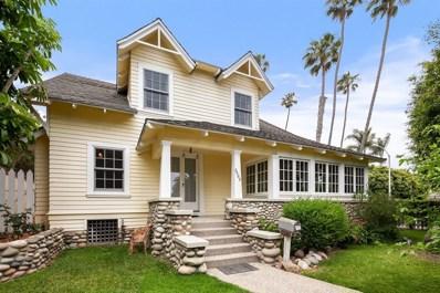 5403 Beaumont Ave, La Jolla, CA 92037 - MLS#: 180041774