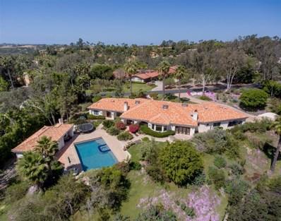 14735 Las Quintas, Rancho Santa Fe, CA 92067 - MLS#: 180041902