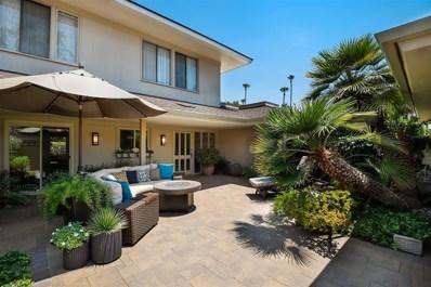 129 Cancha De Golf, Rancho Santa Fe, CA 92091 - MLS#: 180041923