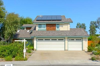 4558 Stratford Circle, Oceanside, CA 92056 - MLS#: 180042777